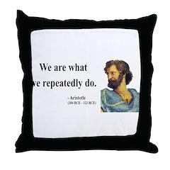 Aristotle 4 Throw Pillow