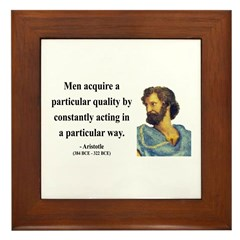 Aristotle 3 Framed Tile