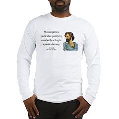 Aristotle 3 Long Sleeve T-Shirt