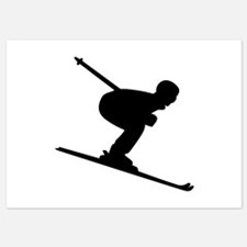 Downhill Skiing Invitations
