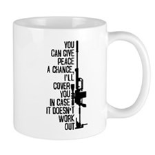 You Can Give Peace A Chance Mugs