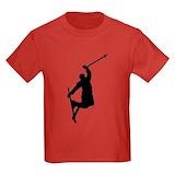Skiing Kids T-shirts (Dark)