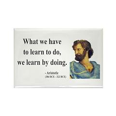 Aristotle 2 Rectangle Magnet