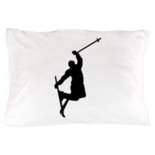 Freestyle ski jump Pillow Case