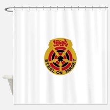 23 Air Defense Artillery Group.psd. Shower Curtain