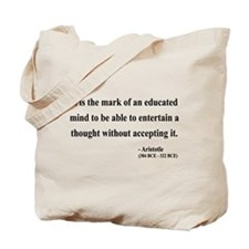 Aristotle 1 Tote Bag