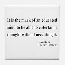 Aristotle 1 Tile Coaster