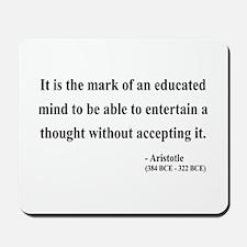 Aristotle 1 Mousepad