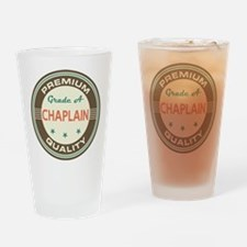 Chaplain Vintage Drinking Glass