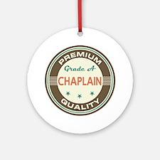Chaplain Vintage Ornament (Round)