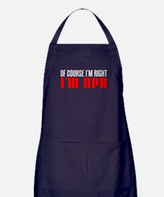 I'm Right I'm Opa Apron (dark)