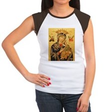 Our Lady of Perpetual H Women's Cap Sleeve T-Shirt