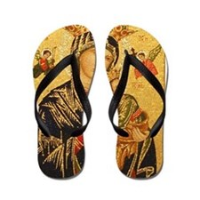Our Lady of Perpetual Help Flip Flops