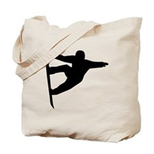 Snowboard freestyle Tote Bag