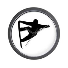 Snowboard freestyle Wall Clock