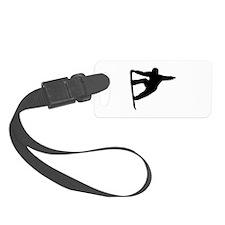 Snowboard freestyle Luggage Tag