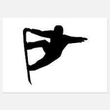 Snowboard freestyle Invitations