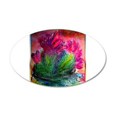 Colorful cactus, southwest art Wall Decal
