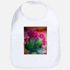 Colorful cactus, southwest art Bib