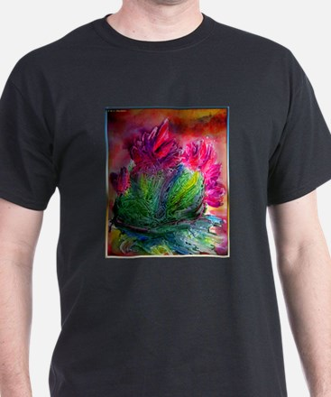 Colorful cactus, southwest art T-Shirt