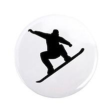 "Snowboarding freestyle 3.5"" Button"