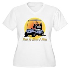 This Is How I Roll Golf T-Shirt