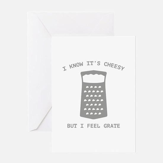 I Feel Grate Greeting Card