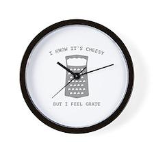 I Feel Grate Wall Clock