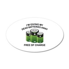 Free Of Charge 22x14 Oval Wall Peel