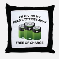 Free Of Charge Throw Pillow