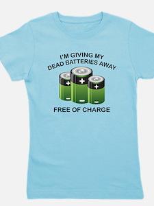 Free Of Charge Girl's Tee