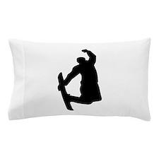 Snowboarder jump Pillow Case