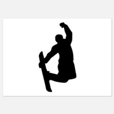 Snowboarder jump Invitations