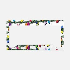 Holiday Lights! License Plate Holder