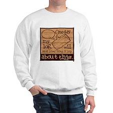 Log Lady Sweatshirt