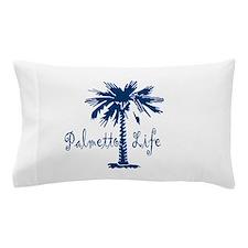 Blue Palmetto Life Pillow Case