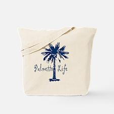 Blue Palmetto Life Tote Bag