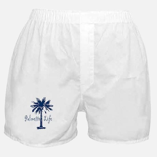 Blue Palmetto Life Boxer Shorts