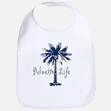 Blue Palmetto Life Bib