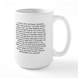 Compliance mugs Large Mugs (15 oz)