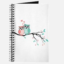 Cute owls in love Journal