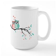 Cute owls in love Mugs