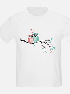 Cute owls in love T-Shirt