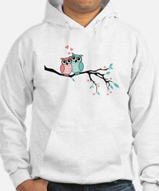 Cute owls in love Hoodie