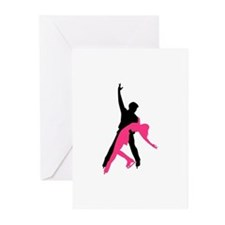 Figure skating couple Greeting Cards (Pk of 20)