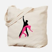 Figure skating couple Tote Bag
