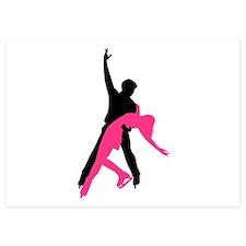 Figure skating couple Invitations
