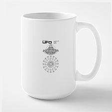 Ufo - S.h.a.d.o. Ufo Blueprint Mugs