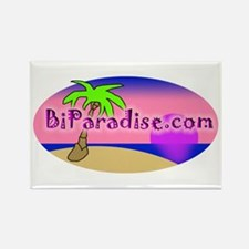 BiParadise Oval Rectangle Magnet