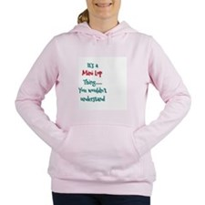 Mini Lop Thing Women's Hooded Sweatshirt